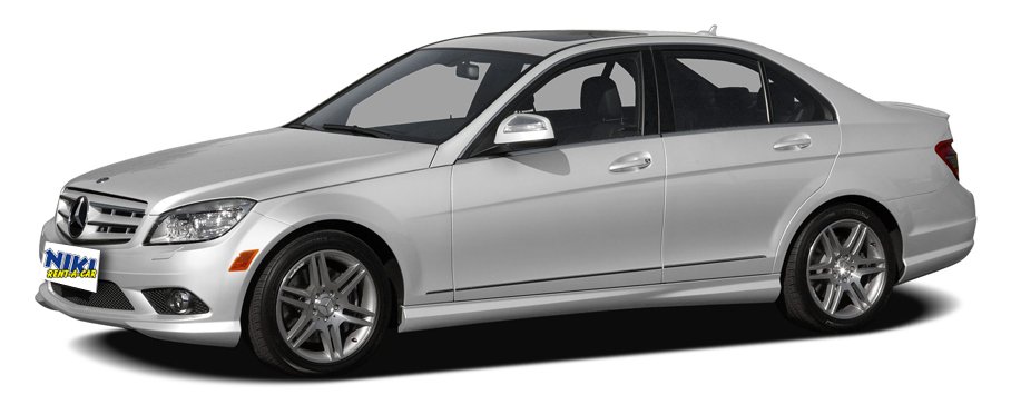 Mercedes-Benz C-class - Car rental Niki Car