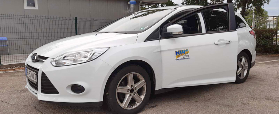 Ford Focus TDCi Combi - Car rental Niki Car