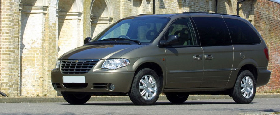 Chrysler Voyager - Car rental Niki Car